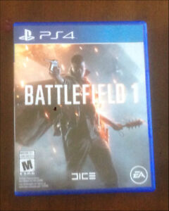 Battlefield 1 ps4 20$ or trade for fallout4