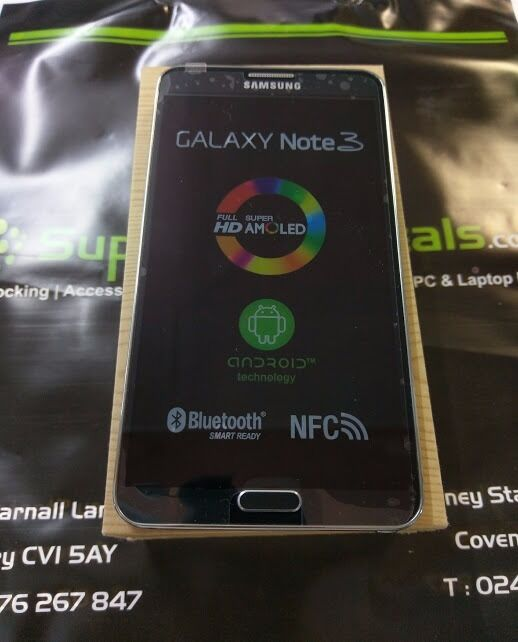 SAMSUNG GALAXY NOTE 3 - UNLOCKED TO ALL NETWORKS - GRADE A