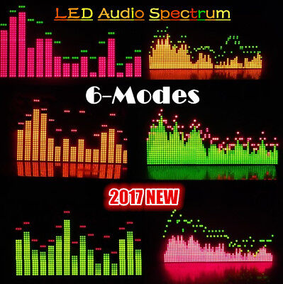 Douk Audio 6 Modes Music Audio Spectrum Level Display Screen Indicator Vu Meter