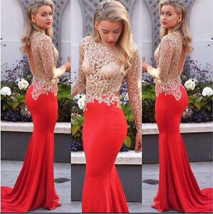 Goddess Gown Red Mermaid Bridesmaid Cocktail Prom Evening Formal Dress Surfers Paradise Gold Coast City Preview