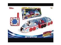 Mickey Mouse bump 'n'beep remote control train