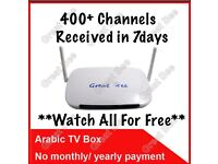 400+ Arabic Channels Android Box - Free For Life time