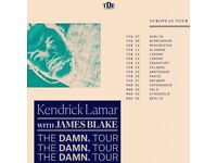 x2 Kendrick Lamar tickets | Standing | Wembley