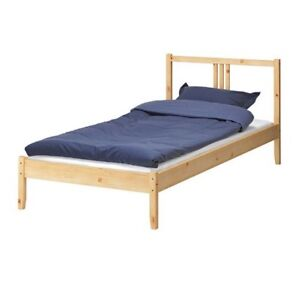Twin bed brand new needs assembly $110