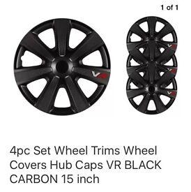 Carbon fibre effect trims