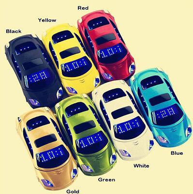 Unlocked F15 MINI Flip Sports Car Cell Phone Dual SIM MP3 Best Backup (Best Unlocked Flip Phone)