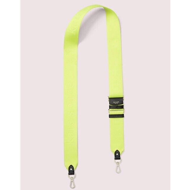 NWT Kate Spade Make It Mine Neon Yellow Bag Strap