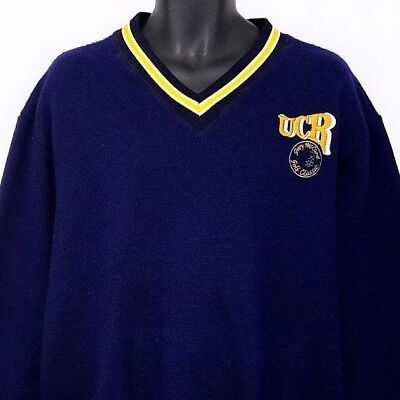 UCR Gary McCord Golf Classic Sweater Vintage 80s UC Riverside Made In USA XL
