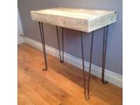 Bespoke Handcrafted Hallway Table