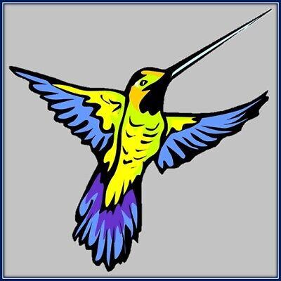 30 Custom Hummingbird Art Personalized Address Labels