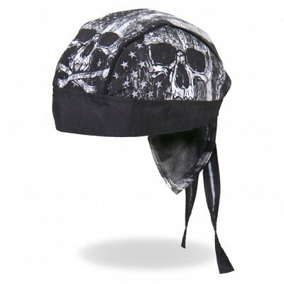 opftuch Headwrap Biker Chopper Cap Biker Harley Gothic Rock (Flag Bandana)