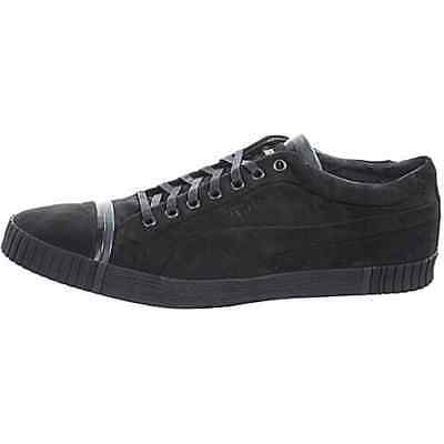 Puma AMQ Scarred SUEDE Graphite Shoes UK 10.5 2010 Alexander McQueen 100% AUTH