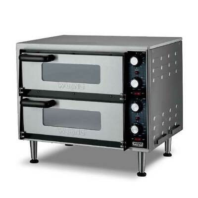 Waring Wpo350 Double-deck Pizza Oven Electric Countertop