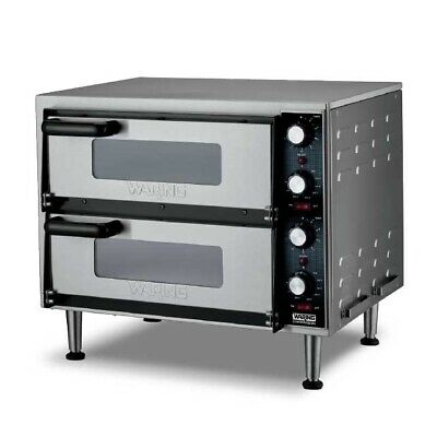 Waring Wpo350 Double Deck Countertop Electric Pizza Oven