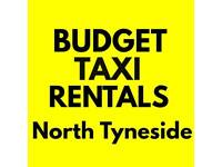 Taxi Rental - North Tyneside