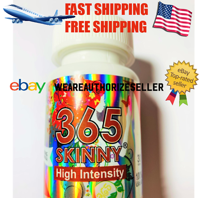 365 Skinny High Intensity Diet Pills/pastillas Para Bajar De Peso