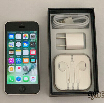 APPLE iPHONE 5C (UNLOCKED) GSM 16GB SMARTPHONE - WHITE