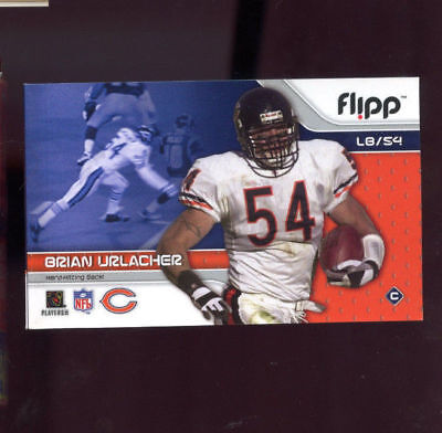 2002 Flipp Books Brian Urlacher Flippbooks Football Flip Book Sports Bears