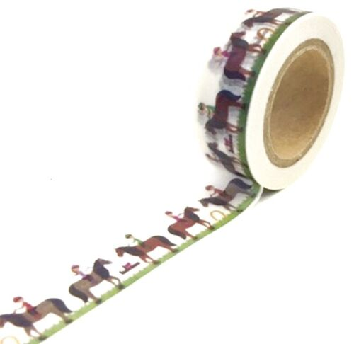 Horse Pony Washi Tape Papercraft Planner Supply Party Journal Farm Barnyard