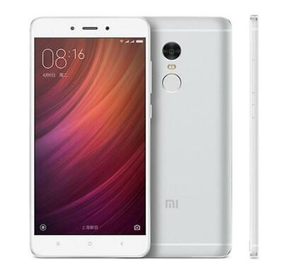 "Xiaomi Redmi Note 4 Desbloqueado Smartphones 5.5"" DecaCore 13MP 4G LTE -Plata"