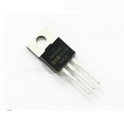 5 X Irf9540 P-channel Power Mosfet 23a 100v To-220 Ir