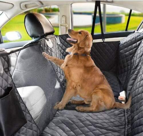 Dog Car Seat Cover Mat Mesh Waterproof Pet Carrier Hammock Cushion For Travel