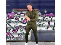 LC Tracksuit Bottoms – Green