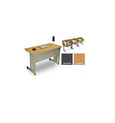 Ofm Linea Italia 24 X 48 Modular Computer Office Table Desk Quick Easy Set Up