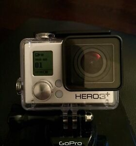 GoPro Hero 3+ Silver Edition, mint