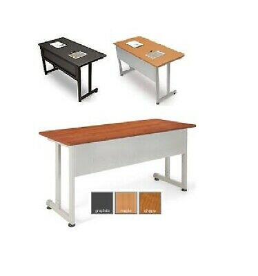 New Ofm Linea Italia Modular Training Room Office Table 55x20 Desk Easy Assembly