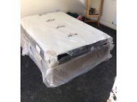 Brand new divan bed with mattress