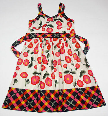 Size 18 Flower Girl Dresses (LIMITED TOO GIRLS SIZE 18 DRESS RED POPPY FLORAL FLOWERS SUNDRESS)