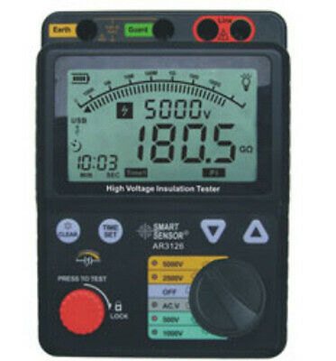 Ar3126 High-voltage Digital Insulation Resistance Tester Ar-3126