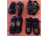 Child's Martial Arts Protective Wear Sparring Kit