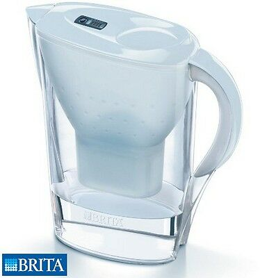 Brita Marella Cool Water Filter Jug 2.4L White Purifier Kitchen Home New