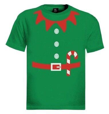 Elves Suit Outfit ELF CHRISTMAS T-Shirt Crazy Party TV Gift Idea Granny - Xmas Party Outfit Ideas