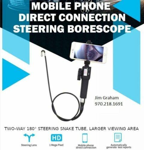 Videoprobe Borescope 5.5 ml Mobile Phone Unit Excellent Condition!