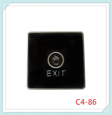 Door Touch Exit Button Push Home Release Switch Panel Access Control Led Lightu