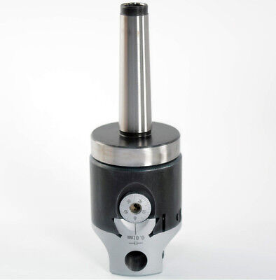 12mm Boring Head Precision Micro Adjust Boring Head With Mt2 M10 1-12-18 Shank