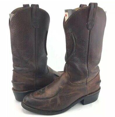 Double H Work Western Boots Cowboy Crazy Horse Leather 1607 Men's Size 11 D