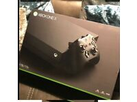 Xbox one x 1TB still sealed 365.00 for quick sale and a bargain for you before Christmas