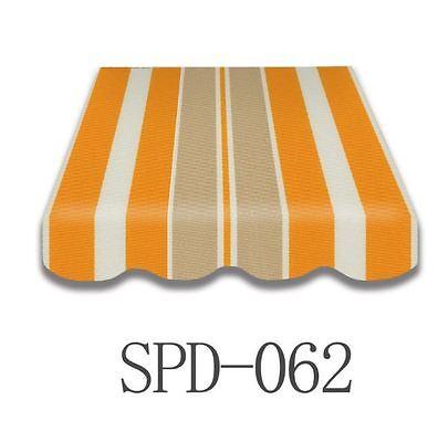 Markisenstoff Plane Zelts Markisenbespannung Volant 2x1,5 m SPD062 Fertig genäht