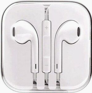 Genuine Apple Earphones Headphones for iPhone 5s 5c 6 6s EarPods/ Mic MD827