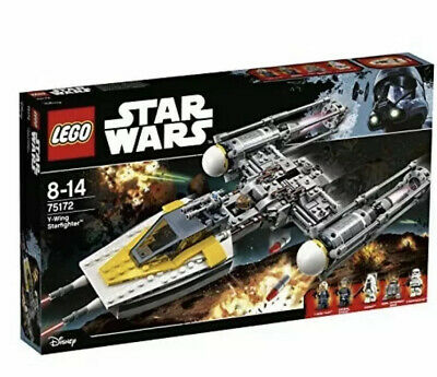 LEGO Star Wars 75172 Y-Wing Starfighter 2017 Sealed Rogue One rebels starfighter