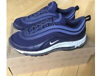 AIRMAX 97 600K EM PACK BLACKENED BLUE LIMITED EDITION *LIKE NEW* OPEN TO OFFERS***