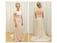 Champagne bridesmaid dresses sizes 14 & 18