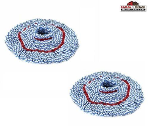 2x O-Cedar MicroTwist Microfiber Refill Mop Head ~ New