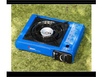 Brand new in carry case portable gas stove Camping