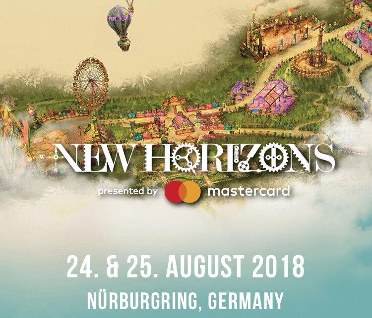 Weekender Ticket New Horizons Festival Nürburgring (ohne Camping)