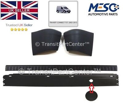 BRAND NEW OE FORD TRANSIT CONNECT REAR BUMPER WITH END CAPS  COVER 2002 2013